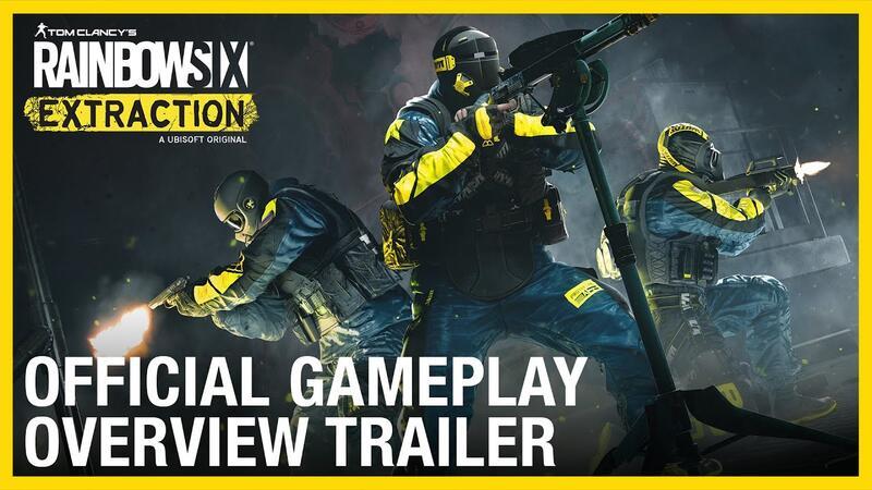 Официальный трейлер с обзором игрового процесса Rainbow Six Extraction