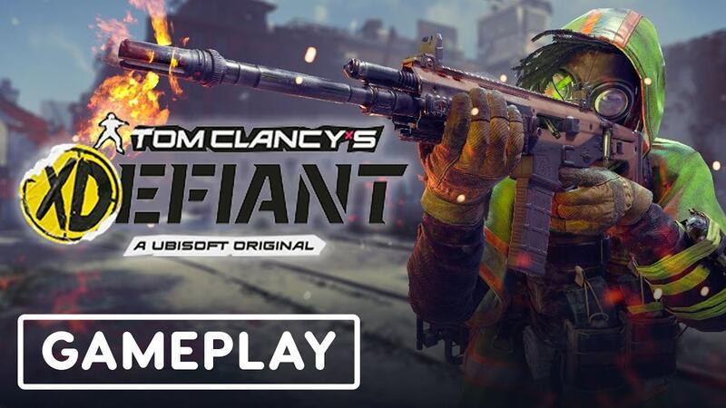 Вот шесть минут игрового процесса из Tom Clancy's XDefiant