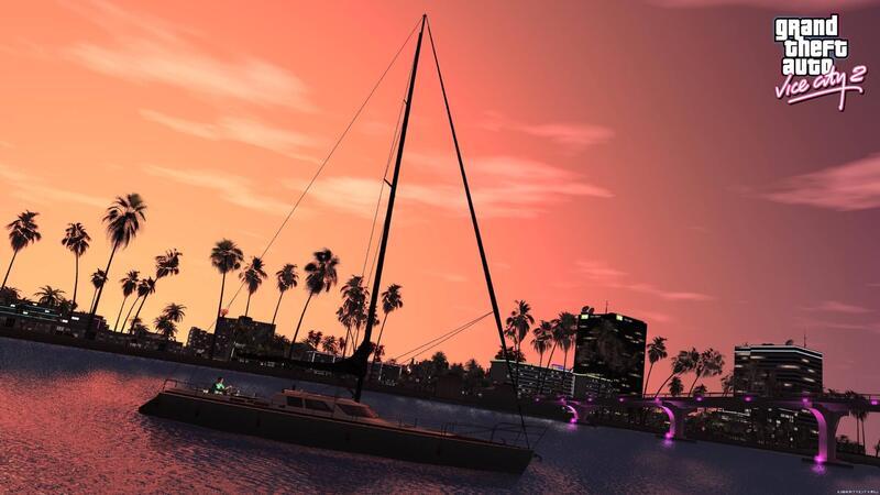 Вышел неофициальный ремастер Grand Theft Auto Vice City на RAGE Engine