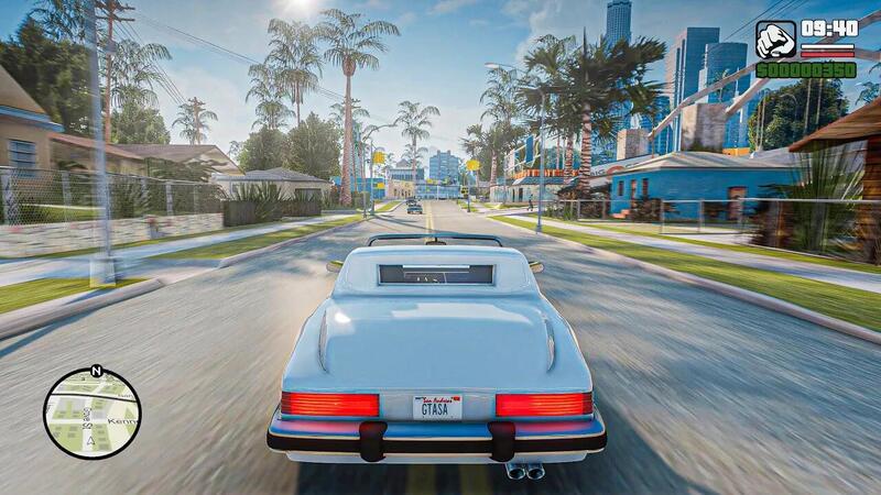 Запрещенные GTA San Andreas и Vice City Remasters в GTA 5 выглядят впечатляюще