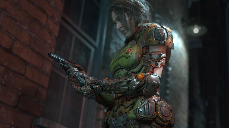 Джилл Валентайн теперь может носить костюм из Doom Eternal