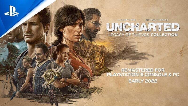 Uncharted 4 Remastered официально анонсирована для ПК